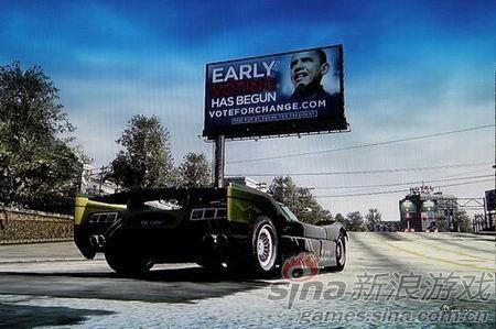奥巴马竞选时在游戏内植入广告