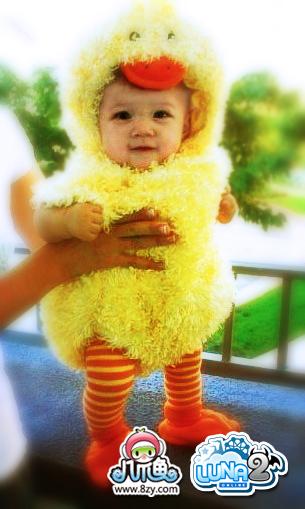 可爱小鸭子