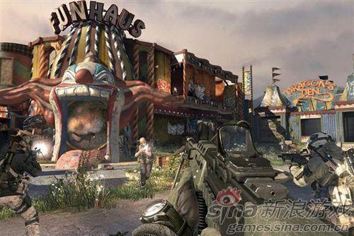 现代战争3游戏截图