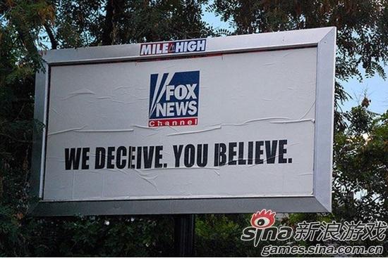 福克斯新闻宣传语