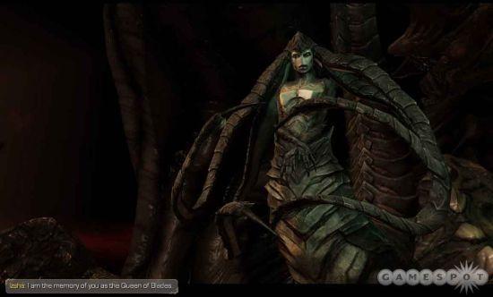 Iszha储存着Kerrigan身为刀锋女王时的记忆