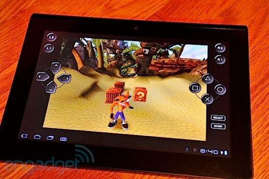 索尼开发的平板电脑Tablet S