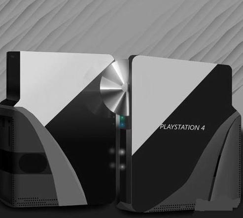 未来科幻风格 出自玩家手的ps4设计图_产业服务_新浪