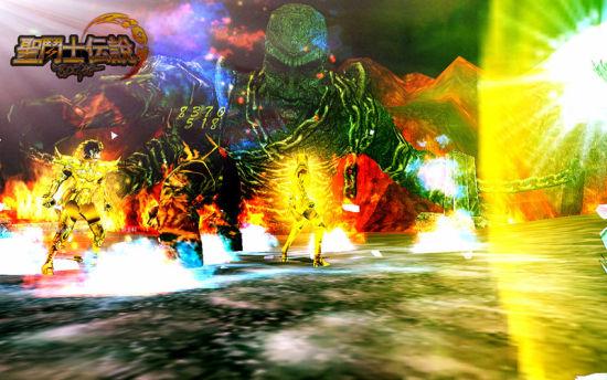 《圣斗士传说》黄金圣斗士对决BOSS