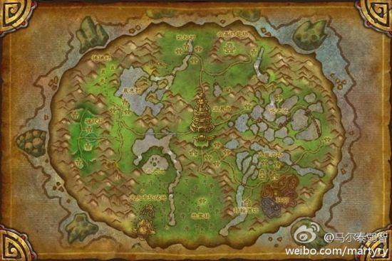 简体中文地图
