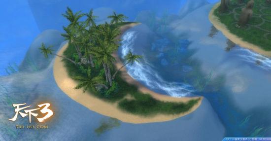 风光秀丽的东海小岛