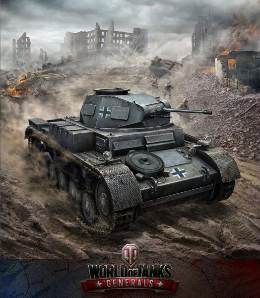 《坦克世界:将军》宣传图