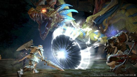 《最终幻想14》重制版截图
