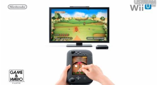 《游戏&瓦里奥》加入了Game Pad陀螺仪以及触摸操作