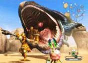 《怪物猎人3:终极》WiiU版画面