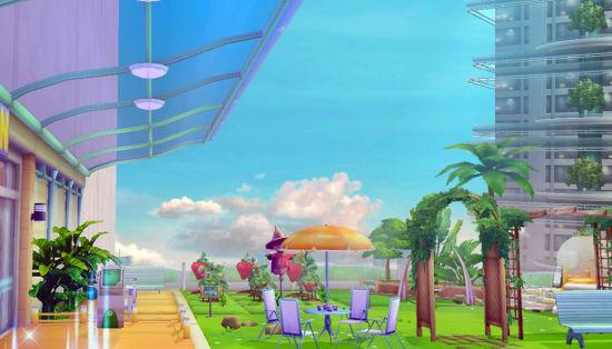 《游戏星城》的花园