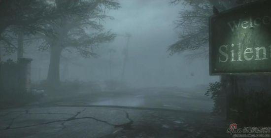 浓雾中潜藏危机的寂静岭