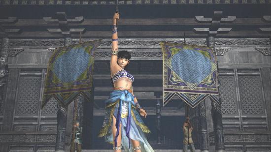 《真三国无双6:帝国》新图 妹纸穿裹胸割草