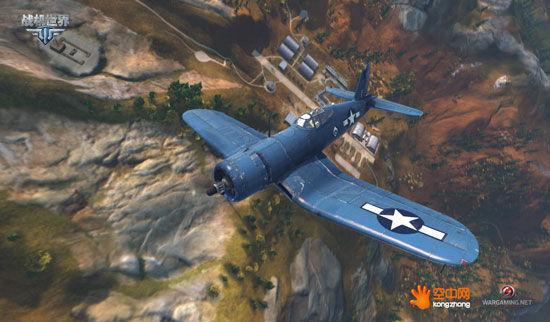 海盗打飞机《战机世界》f4u战斗机