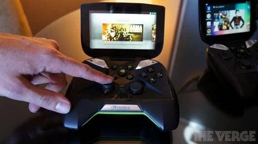 英伟达Project Shield游戏机上手试玩