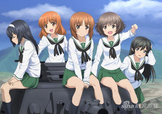 日本动画《少女与战车》