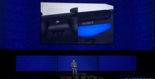 索尼2013发布会现场演示PS4次时代主机