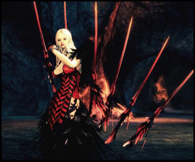 冷艳美女携极魔武器登场 新浪剑灵专区