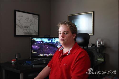 《魔兽世界》玩家Ian Bates