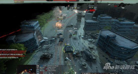 韩视频网游《Blitz2》多部坦克曝光_网络游戏英朗视频v视频图片