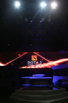 DSL开幕式现场主舞台