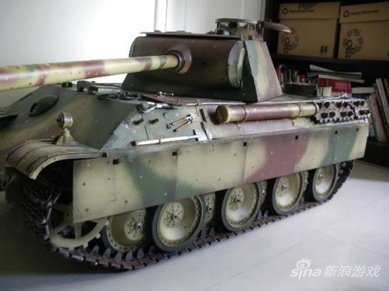 超逼真二战坦克模型