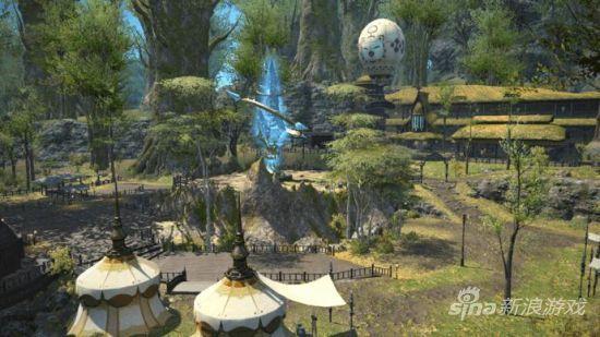 《最终幻想14:新生国度》新场景截图