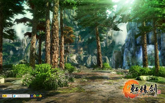 《轩辕剑6》最新游戏场景实际截图