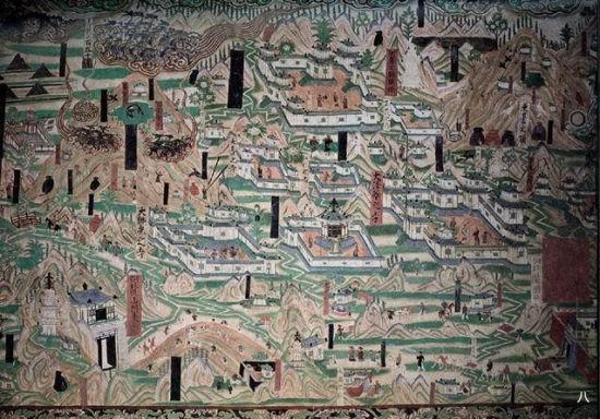 敦煌壁画中最早记录了黄道十二宫,即我们说的12星座图片