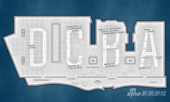 展馆地图一览