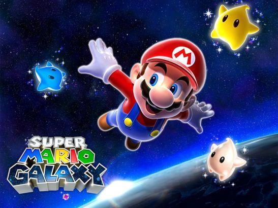 10、超级马里奥:银河