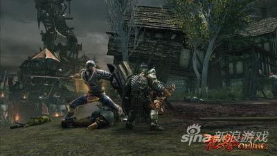 《无冬OL》战士游戏截图