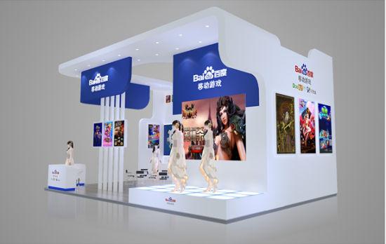 GMGC百度移动游戏展台曝光 整合品牌形象