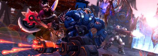 《风暴英雄》总监:团队等级共享给玩家更多自由
