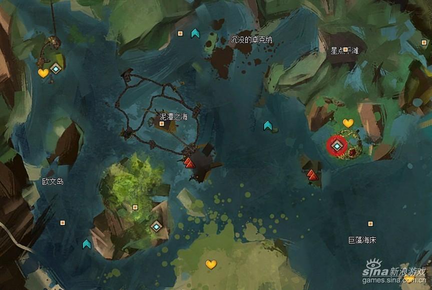 激战2世界BOSS魔像马II型刷新地点最近传送点