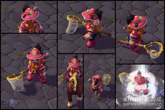 《风暴英雄》特殊皮肤:探险家丽丽