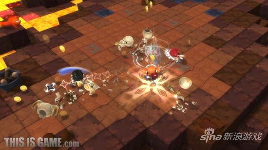 据悉,《冒险岛2》中的关卡都采用了类似于乐高或《我的世界》的六面方块结构,而楼梯或树木等对象还有怪物也都是使用大小不一的方块来进行制作的。地图上的每个方块都能自由摘取和镶嵌,玩家可以应用在各种地方,比如战斗中可以使用电线杆及大树战斗,也可以移动方块的位置或安装上新的零件,不过玩家可以操纵的方块也会视情况增减。   方块主要运用的地方在装饰与开发副本上,《冒险岛2》地图里指定的方块可以像买卖不动产一样,只要付出相应的钱币就可获得,而方块的价格以位置与条件来决定,并可在购买的区域使用建设模式来建造建筑物。