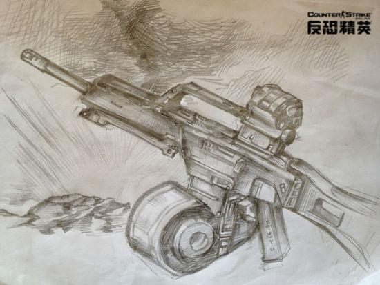 95步枪的图片 手绘