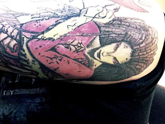 暴雪铁粉秀双臂六处纹身
