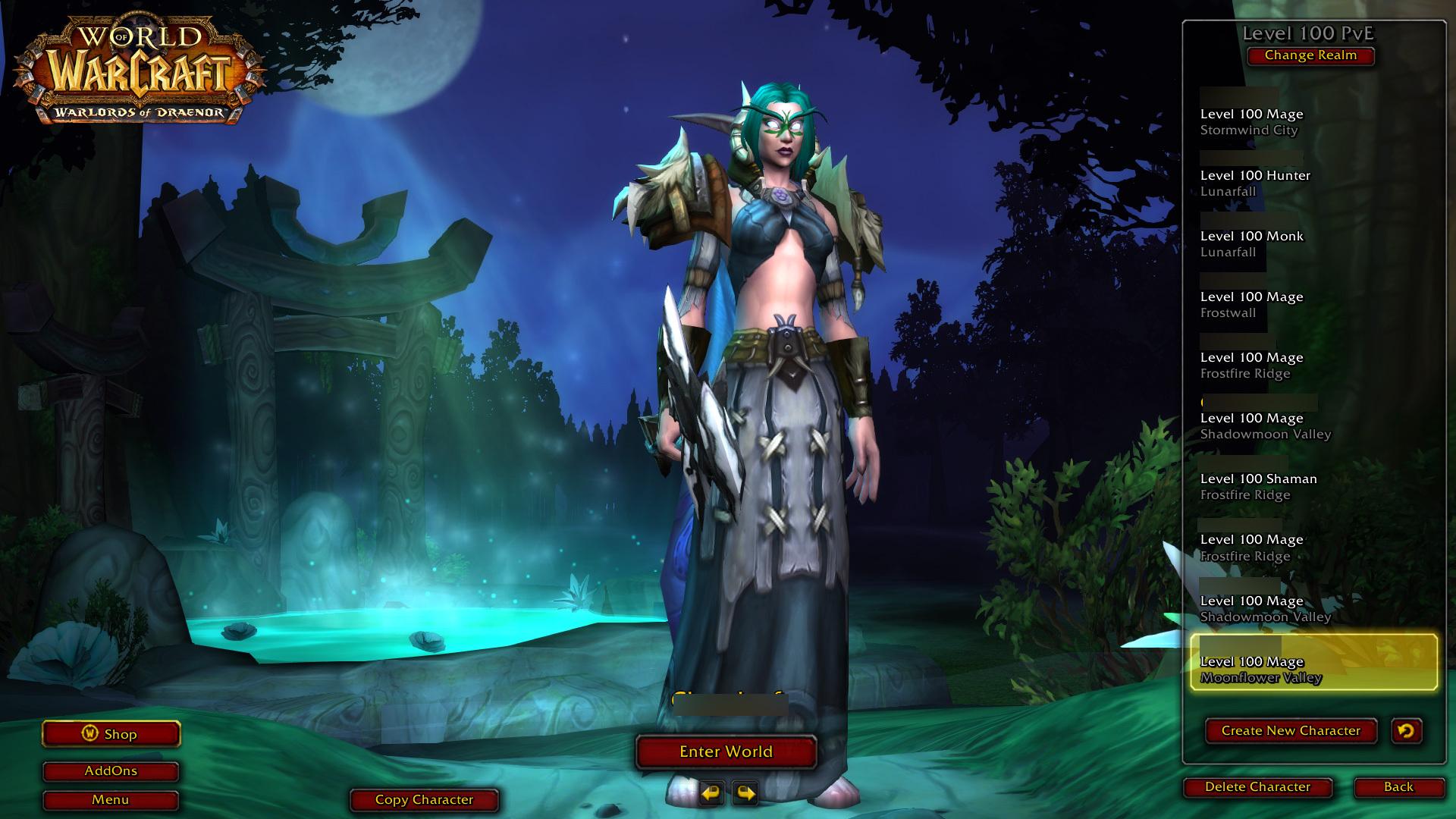 踏入黑暗之门 魔兽6.0登录及角色创建界面更新
