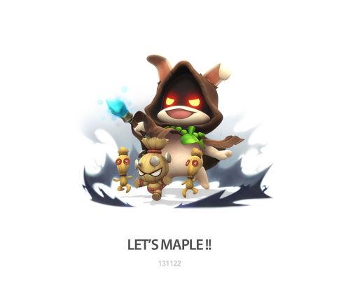 激萌超可爱的小清新 《冒险岛2》官方插画赏
