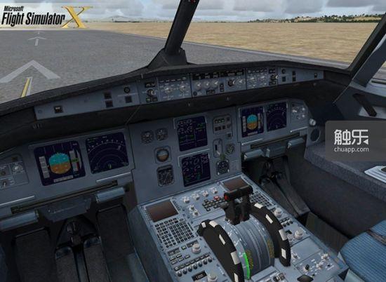 游戏,而《微软飞行模拟》与真正的客机模拟器的操作差距也并没有太大.