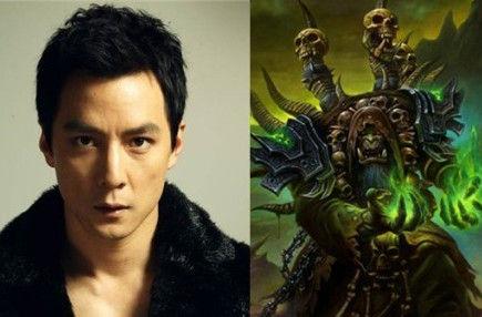 吴彦祖出演魔兽世界古尔丹被恶搞图片