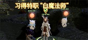 最终幻想14国服白魔法师转职任务流程视频