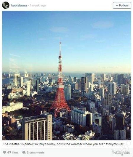 5、东京塔(Tokyo Tower)