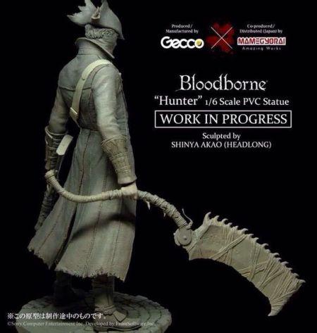 《血源诅咒》猎人手办