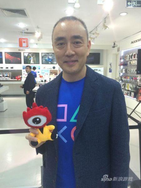 索尼电脑娱乐中国总裁添田武人