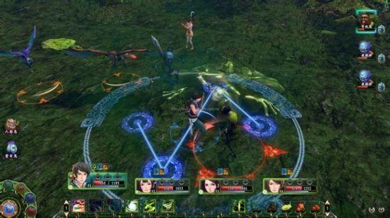 ▲阵战使用实际游戏画面。