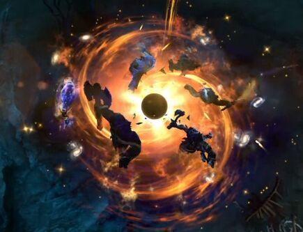 谜团黑洞效果叼炸天