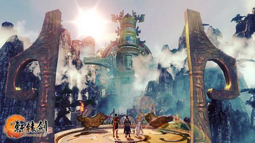 《轩辕剑6》场景宏大 水墨风依旧_台湾游戏网